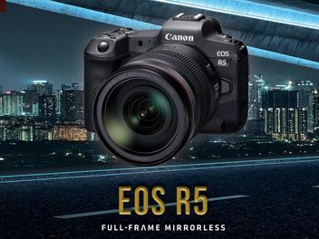 Canon 預告全力開發新一代全片幅無反光鏡單眼 EOS R5 與多款 RF 鏡頭 全力強化 EOS R 系統之陣容