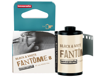 Lomography 最新 Fantôme Kino B&W ISO 8 低感光度黑白底片,體驗戲劇性的極緻柔滑黑白