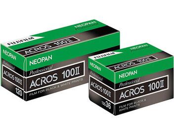 愛拍黑白底片的你有福了!富士最新Neopan ACROS 100 II軟片正式上市