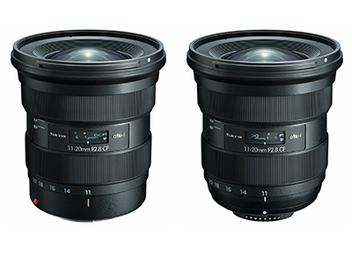 Tokina發表最新APS-C片幅超廣角大光圈變焦鏡atx-i 11-20mm F2.8 CF