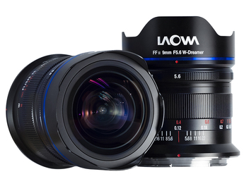 LAOWA 9mm F5.6  W-Dreame 超廣角鏡頭預購開跑,建議售價NT$ 26,500~29,500