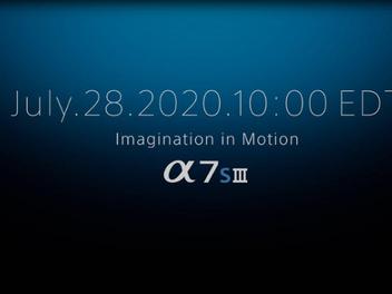 Sony 將於7月28日直播發布新機,沒意外應該就是A7S III現身了?!
