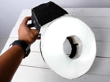 炸雞桶 DIY 環型閃燈 配件,省錢攝影必學絕招