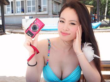 Olympus 澎湖 夏日沙灘體驗會,體驗 防水相機 TG-3 拍攝樂趣