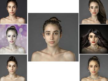Photoshop 變身 大法:一張 素顏 照,變成 22 種 外國 正妹