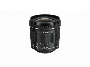 Canon新鏡頭陸續到位!全新EF-S 10-18mm f/4.5-5.6 IS STM 台灣正式銷售