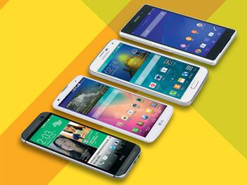 Samsung S5、HTC M8、Sony Z2、LG G2 旗艦智慧機大評比