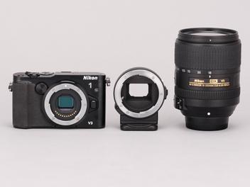 Nikon 1 V3 與 FT-1 轉接環,原廠 Nikkor 鏡頭 實拍分享