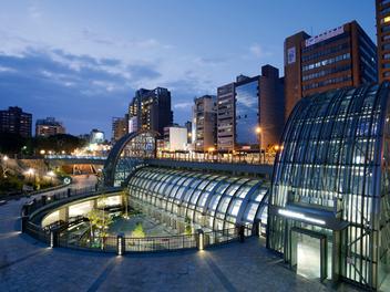 攝影景點分享:捷運大安森林公園站