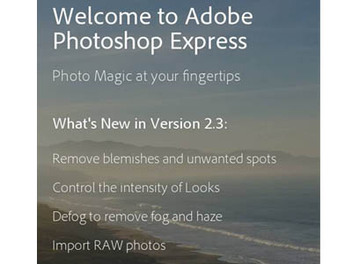Photoshop Express 重大更新, 手機 RAW 檔 編修 初體驗
