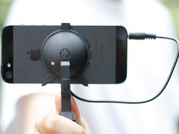 輕巧專業 iPhone 錄影穩定器,預購價新台幣2300元起