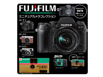 Fujifilm 80週年紀念,推出模型相機吊飾