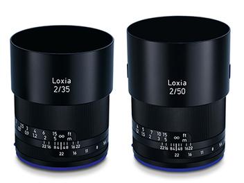 Zeiss 發布全片幅E接環新鏡:Loxia 35mm F2、50mm F2