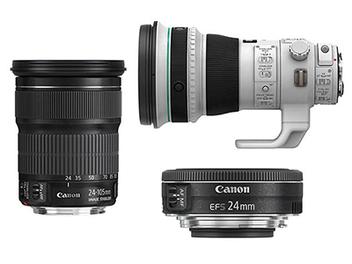 Canon 新鏡頭規格曝光:24mm F2.8、24-105mm F3.5-5.6、400mm F4