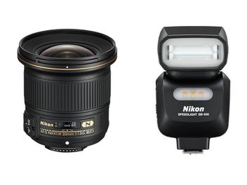 與 Nikon D750 同步發表: AF-S NIKKOR 20mm f/1.8G ED 超廣角定焦鏡、 SB-500 閃光燈