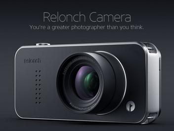 搭載 APS-C 感光元件的 Relonch Camera 相機模組,讓 iPhone 也能拍出淺景深
