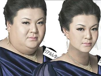 超強 Photoshop 瘦身大法,把日本胖胖藝人們都變瘦變正了!