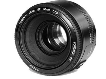 山寨複製?永諾版 EF 50mm f1.8 II,價格比Canon低一半!