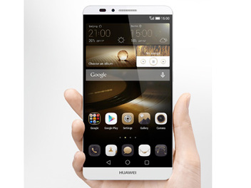 HUAWEI Mate7 全球首款「按壓式」指紋辨識Android旗艦機