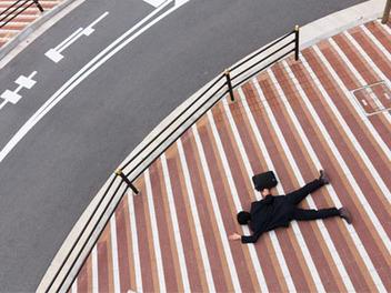 日本上班族憂鬱仆街,Yusuke Sakai的攝影作品Salaryman Blues