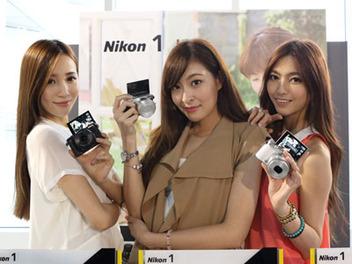 Nikon 1 J5微單眼相機三創園區輕盈亮相,同場加映億航Ghost空拍機