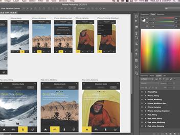 Adobe發表2015年Creative Cloud重大更新,桌面與行動應用程式創新與整合,並支援Android系統