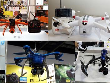 到2015攝影器材展,尋找適合你的空拍無人飛行器