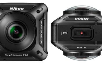 Nikon發佈全新運動相機產品線 首款產品定名KeyMission 360