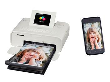Canon發佈新款小型熱昇華印表機SELPHY CP1200