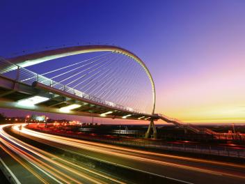 新竹 攝影 私房 景點 分享:夕陽的旋律 香山豎琴橋