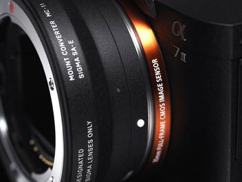 SIGMA發佈MC-11轉接環,Canon/SIGMA鏡頭可順利轉接Sony E接口自動對焦