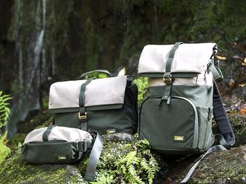 打造都會野綠叢林新時尚 - National Geographic Rainforest雨林系列包款