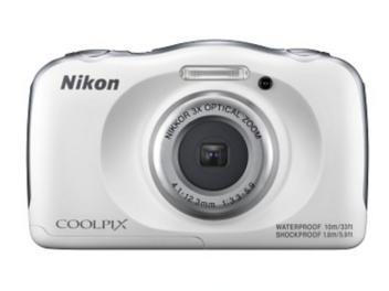 遲來的防水相機,Nikon 推出潛水 10 公尺的 Coolpix W100 四防消費機