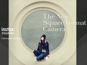 【Photokina 2016】FUJIFILM將於明年春季推出instax SQUARE方形格式拍立得相機