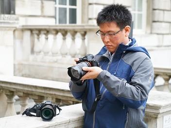 以超廣角紀錄冰島藍冰洞之美,專訪台灣α系列攝影大獎得主江宏仁