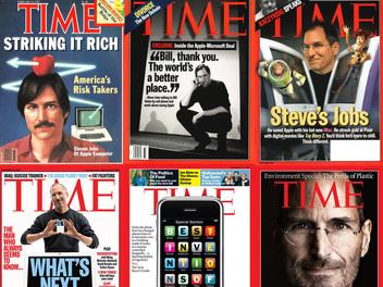 《時代週刊》的攝影師用 iPhone 拍攝了 12 張雜誌封面