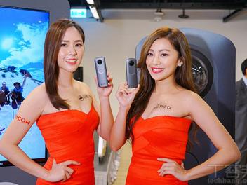 支援 360 度 4K 串流直播,Ricoh Theta V 在台上市,售價 15,900 元