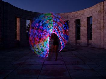 光繪攝影教學:呼啦圈與攝影的完美結合