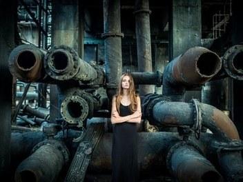 影調綜合處理後期:打造廢棄工廠歐美情緒人像