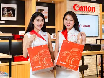 Canon形象概念店:全台第五家進駐高雄草衙道