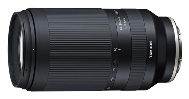 TAMRON將開發最輕巧Sony全幅無反專用遠攝變焦鏡 70-300mm F4.5-6.3 DiIII RXD,預計今年秋季上市