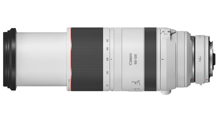 Canon RF100-500mm F4.5-7.1L IS USM正式開賣,建議售價NT$ 82,900