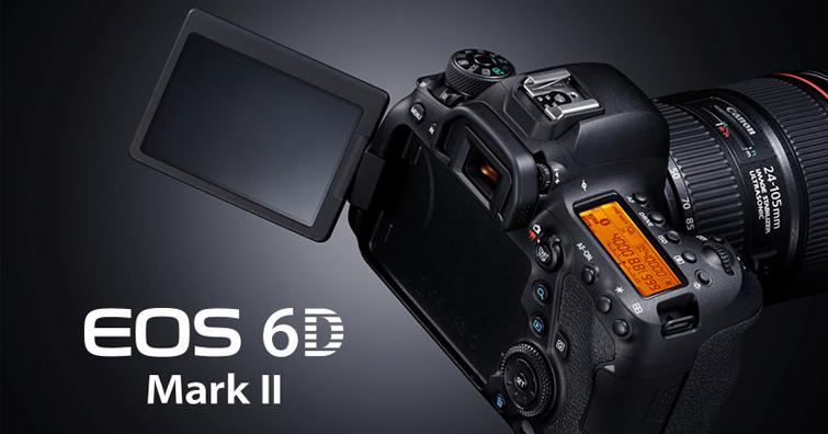 Canon祭出超值優惠 全片幅單眼EOS 6D Mark II單機身 四萬元有找