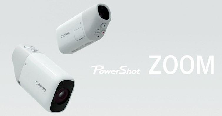 觀看拍攝一次搞定,Canon發佈單眼望遠照相機PowerShot ZOOM