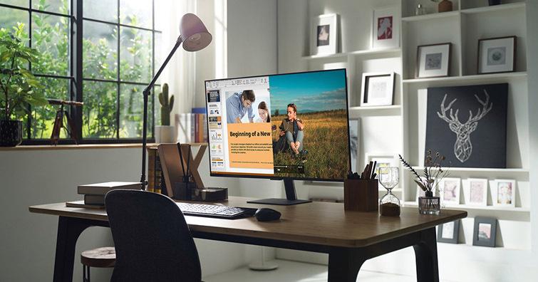 三星全球首款智慧聯網螢幕Smart Monitor M7︱M5在台上市,無須外接電腦 娛樂、辦公、遠距學習一機切換零時差