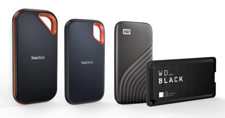 就「4」要大!Western Digital旗下4款全新行動SSD產品線推4TB大容量版本