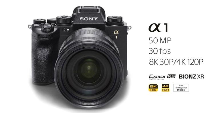 Sony發佈旗艦級相機α1,單機身建議售價約18萬,預計2月下旬上市銷售