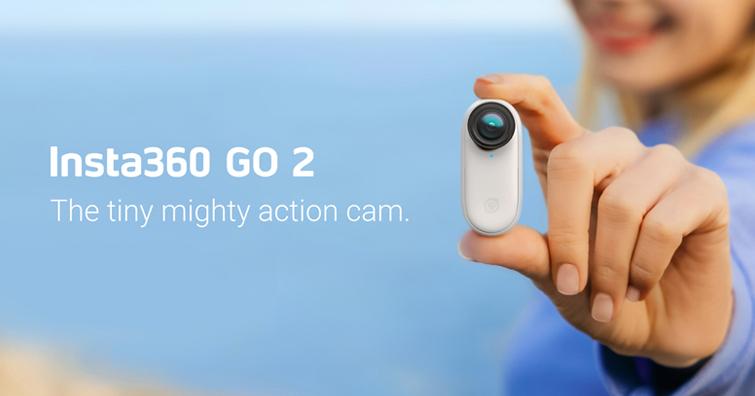 旗艦級拍攝功能 ╳ 世界最小尺寸,Insta360 GO 2 運動相機上市,建議售價NT$ 9,699