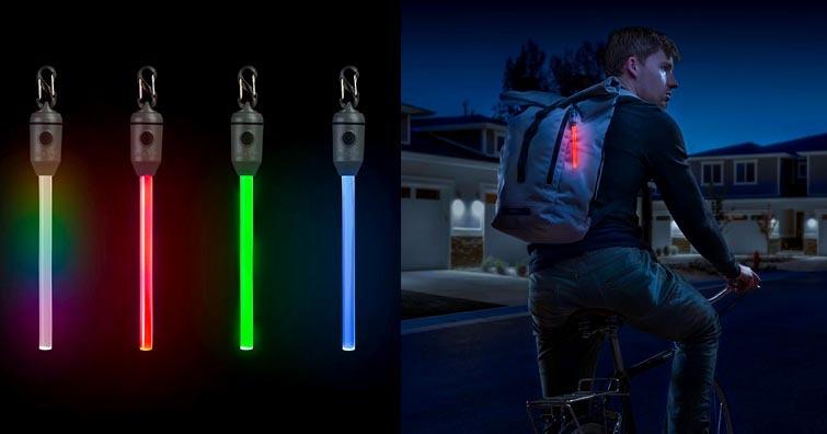 【戶外生活】Niteize RADIANT可充電式螢光棒,環保、防水,並提供五種色光變換模式