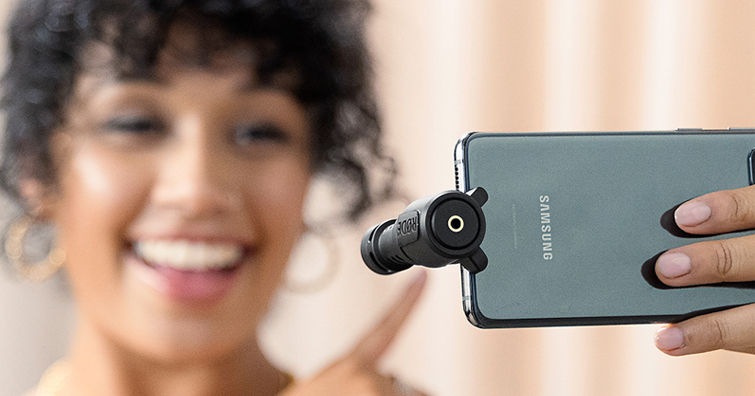 Android 手機對應,RODE VideoMic Me-C 提供Android 手機更佳的收音品質